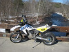 BMW G450X : 2009 BMW G450X.  Super motard wheels from Woody's Wheel Works, Denver.