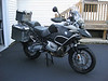 BMW R1200GS Adventure : 2009 model year.