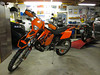 KTM 200 XCW 2006 : I had this KTM for a few months in 2011.  I rode it twice.  It was a fun bike to ride, but that same old story...too many bike projects and something had to go.